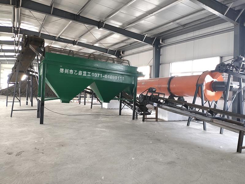 炭基肥设备