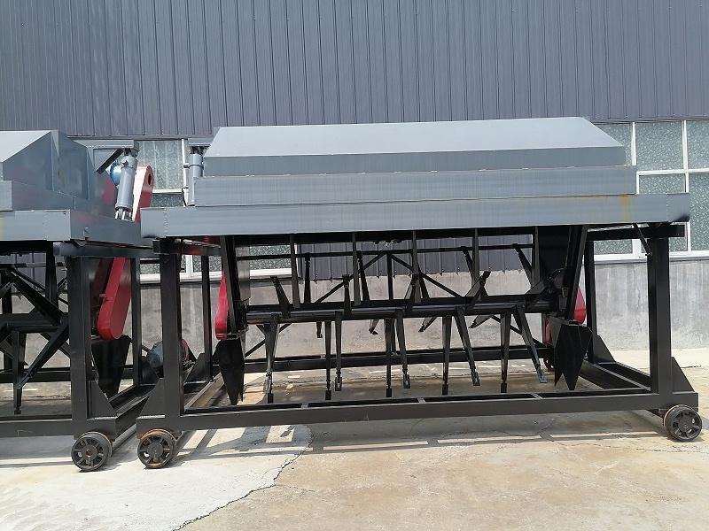 有机肥槽式翻堆机堆肥厂设计参数与布置