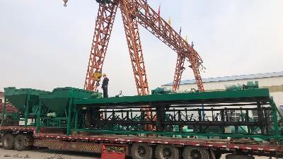 乙鑫重工年产3万吨粉状有机肥生产线设备发往江西