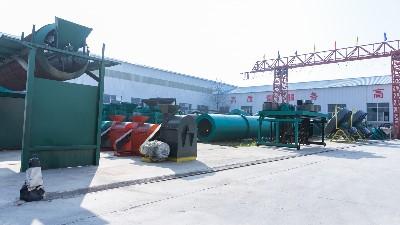 有机肥加工设备的掺混复合肥料生产工艺条件