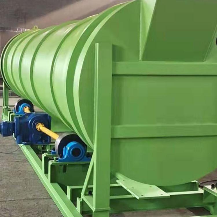有机肥发酵滚筒结构及工作原理
