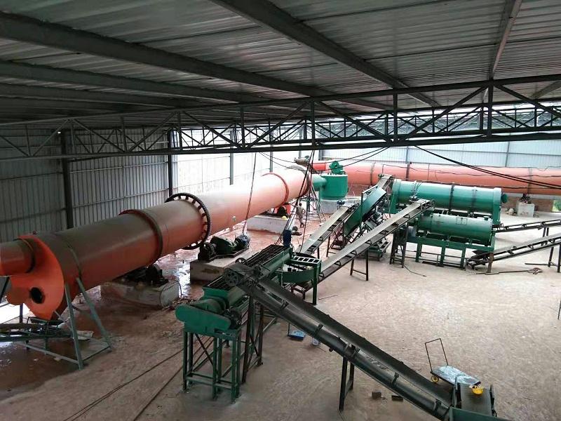 年产10万吨有机肥生产线