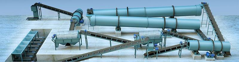 新型有机肥生产线设备
