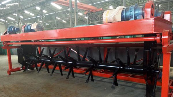 乙鑫重工有机肥生产线设备助力上海原本生物科技有限公司