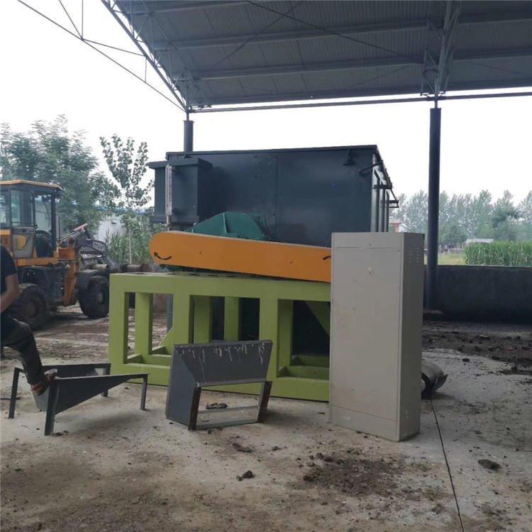 小型生态有机肥发酵设备适合原料有限的个体户