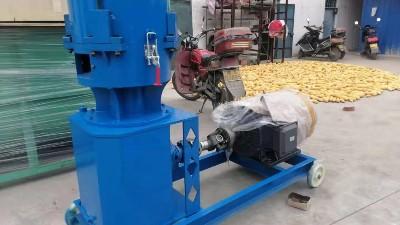 有机肥辊式挤压造粒机工艺特点