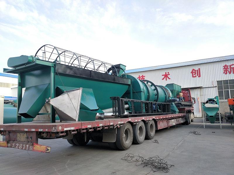 年产10000吨有机肥生产线设备